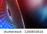 big data concept. global... | Shutterstock . vector #1260810616