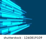 lightning futuristic shapes on... | Shutterstock .eps vector #1260819109