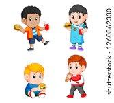 vector illustration of a... | Shutterstock .eps vector #1260862330