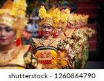 denpasar  bali island ... | Shutterstock . vector #1260864790