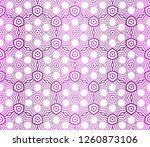 modern decorative seamless... | Shutterstock .eps vector #1260873106