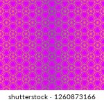 template print for fabric.... | Shutterstock .eps vector #1260873166