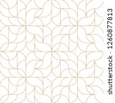 seamless linear pattern with... | Shutterstock .eps vector #1260877813