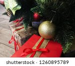 christmas and new year festive... | Shutterstock . vector #1260895789