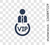 vip person icon. trendy vip... | Shutterstock .eps vector #1260897229