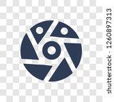 shutter icon. trendy shutter... | Shutterstock .eps vector #1260897313