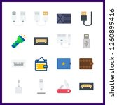 16 pocket icon. vector... | Shutterstock .eps vector #1260899416