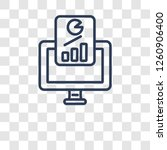 growth hacking icon. trendy...   Shutterstock .eps vector #1260906400