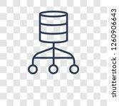 relational database management... | Shutterstock .eps vector #1260906643