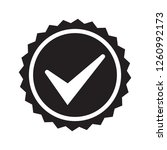 vector icon quality guarantee   Shutterstock .eps vector #1260992173
