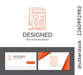 business logo template for... | Shutterstock .eps vector #1260992983