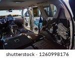 the interior of the suv inside... | Shutterstock . vector #1260998176