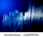 abstract architecture | Shutterstock . vector #126099944