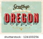 Vintage Touristic Greeting Card ...