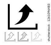 share icon graphic deign | Shutterstock .eps vector #1261096483