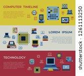 digital vector personal... | Shutterstock .eps vector #1261113250