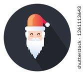 christmas santa clause  noel... | Shutterstock .eps vector #1261113643