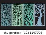 Tree Decorative Laser Cut Panel ...