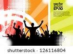 music event background | Shutterstock .eps vector #126116804
