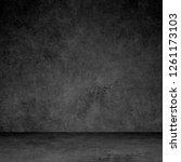 designed grunge texture. wall... | Shutterstock . vector #1261173103