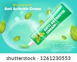 banner anti arthritis cream... | Shutterstock .eps vector #1261230553
