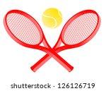 sport tennis | Shutterstock .eps vector #126126719