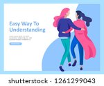 landing page templates for... | Shutterstock .eps vector #1261299043