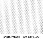 abstract futuristic halftone... | Shutterstock .eps vector #1261391629