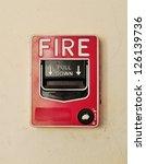 fire alarm | Shutterstock . vector #126139736
