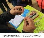 practical class of scientific...   Shutterstock . vector #1261407940