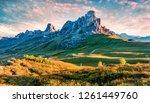 breathtaking morning view of... | Shutterstock . vector #1261449760