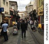 istanbul  turkey   october 05 ... | Shutterstock . vector #1261462270