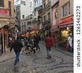 istanbul  turkey   november 7th ... | Shutterstock . vector #1261462273