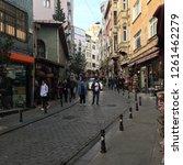 istanbul  turkey   november 7th ... | Shutterstock . vector #1261462279