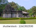 mahadeva temple on a sunny day...   Shutterstock . vector #1261502530