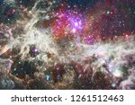 nebulae an interstellar cloud... | Shutterstock . vector #1261512463