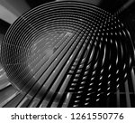 fish eye photo of lath ceiling. ... | Shutterstock . vector #1261550776