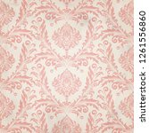 retro wallpaper and vintage... | Shutterstock .eps vector #1261556860