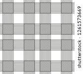 vector seamless geometric... | Shutterstock .eps vector #1261573669