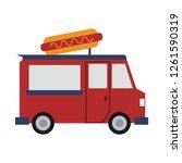 food truck restaurant   Shutterstock .eps vector #1261590319