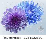 Floral Beautiful Vector...