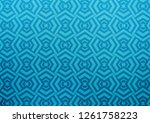 light blue vector pattern with...   Shutterstock .eps vector #1261758223