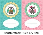 Baby Boy And Baby Girl Cards...
