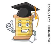 graduation bobbins with thread... | Shutterstock .eps vector #1261778026