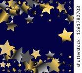 stars confetti horizontal... | Shutterstock .eps vector #1261782703