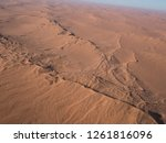 aerial views over the namib... | Shutterstock . vector #1261816096