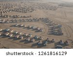 aerial views over the namib... | Shutterstock . vector #1261816129