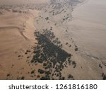 aerial views over the namib... | Shutterstock . vector #1261816180
