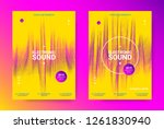 music event promotion.... | Shutterstock .eps vector #1261830940