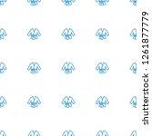kimono icon pattern seamless... | Shutterstock .eps vector #1261877779